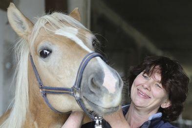 Team: College Caball; Angelique Behrens, Begründerin der Equipathie: Ausbildung Osteopathie, Physiotherapie, Psychomotorik am Pferd